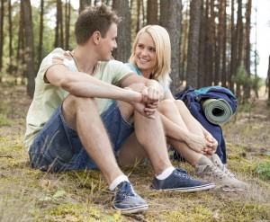 Loving Couple Sharing Feelings